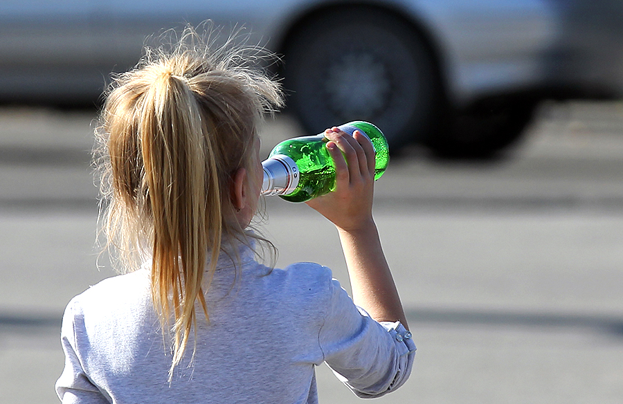 Об употреблении алкоголя (пива) на улице